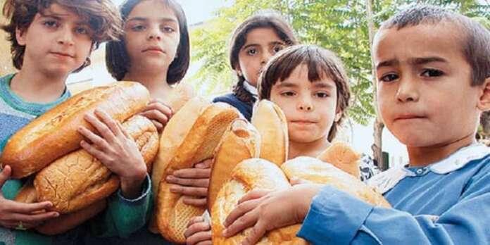 4 Kişilik Ailenin Açlık Sınırı 1.417 Lira!