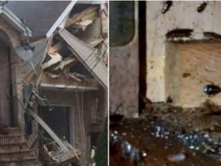 ABD'de böcek ilacı yüzünden bir ev havaya uçtu