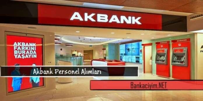 Akbank İç Anadolu Gişe Yetkilisi Personel Alımları