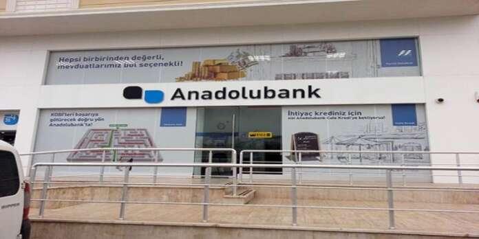 Anadolu Bank'tan Taşıt Kredisi Oranlarında İndirim!