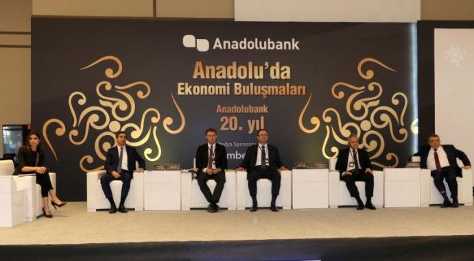 Anadolubank Ekonomi Buluşmaları Sakarya'da Düzenlendi