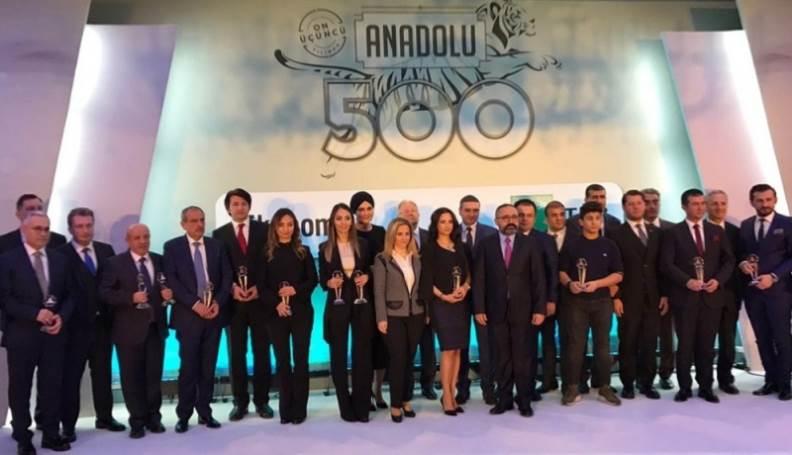 Anadolu'nun En İyi 500 Şirketi Ödül Töreni!