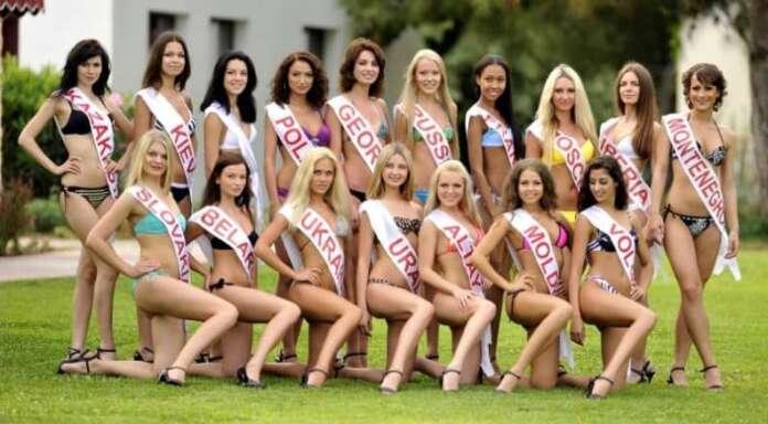 Antalya Expo'da Miss Eurasia Güzellik Yarışması Düzenlendi