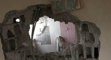 Binanın duvarı yıkıldı, Kur'an-ı Kerim zarar…