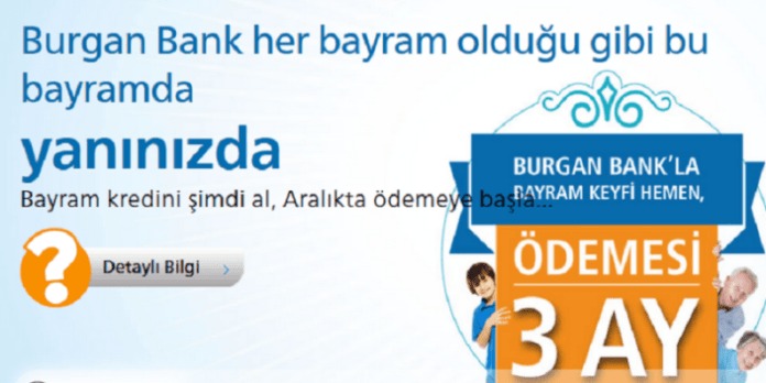 Burgan Bank Bayramda İhtiyaç Kredisi