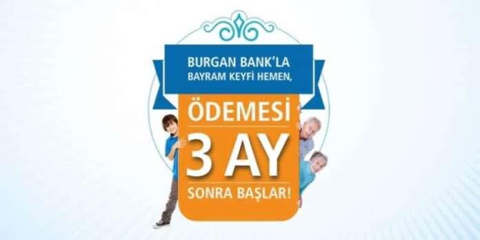 Burgan Bank'tan Bayram Kredisi