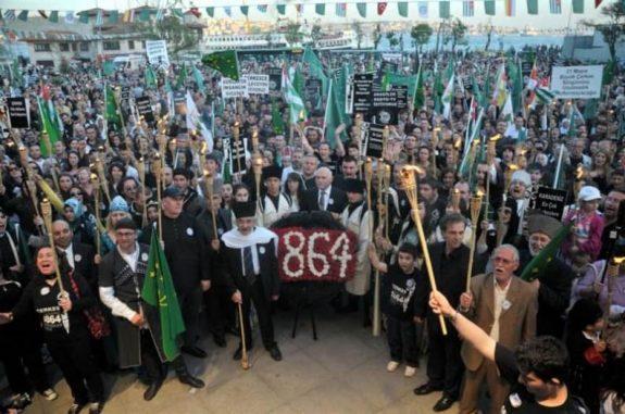 Çerkes Soykırımının 152.Yıl Dönümü