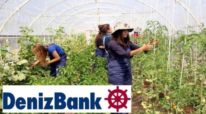 """Deniz Bank'tan """"Genç Çiftçilerin Yüzünü Güldürme"""" Kampanyası"""