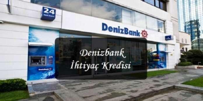 Denizbank Bankacılara Özel İhtiyaç Kredisi