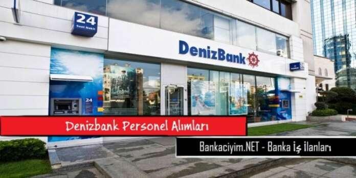 Denizbank Personel Alımları 2016