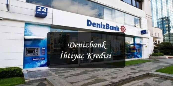 Denizbank PTT İhtiyaç Kredisi