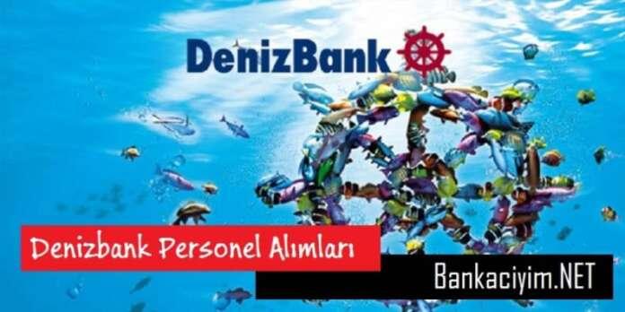Denizbank Şube Op. Yöneticisi Personel Alımları