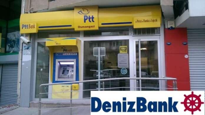 Denizbank Ve PTT'den Emekliye Ortak Kredi