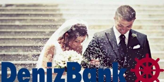 Denizbank'tan Evlenenlere Kredi