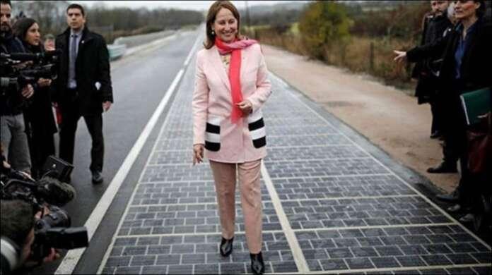 Dünyada Bir İlk: Yol Elektrik Üretiyor