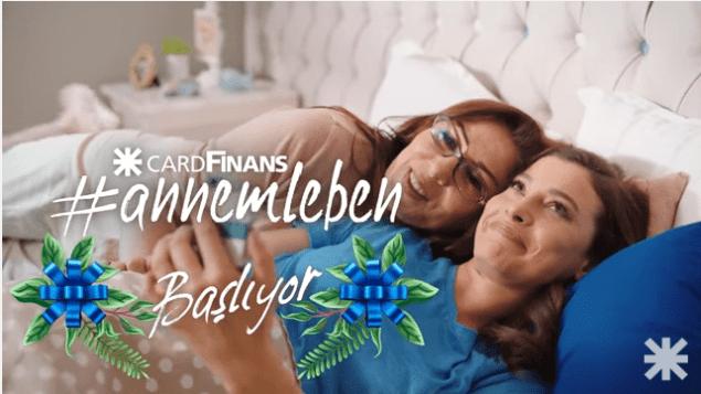 Finansbank Cardfinans'dan annemleben