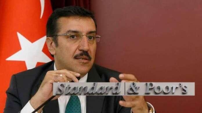 Gümrük ve Ticaret Bakanı Bülent Tüfenkçi; Standard & Poor's Bizim Notumuzu Değil Kendi Notunu Düzeltti!