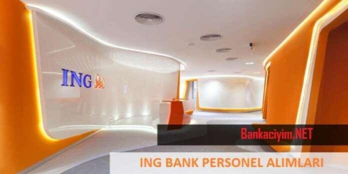 ING Bank Personel Alımları 2016 Ağustos
