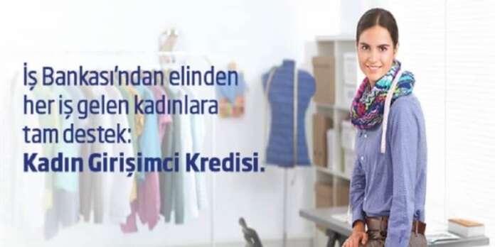 İş Bankası Kadın Girişimci Kredisi