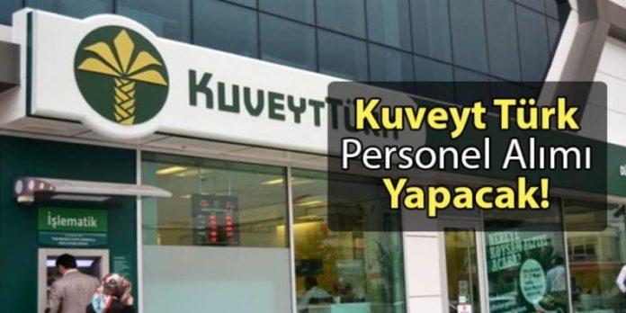 Kuveyt Türk Katılım Bankası Personel Alımı Yapacak