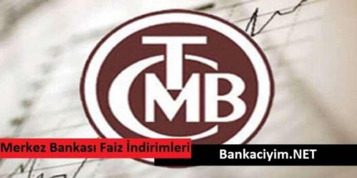 Merkez Bankası Faiz İndirimleri Uyguluyor