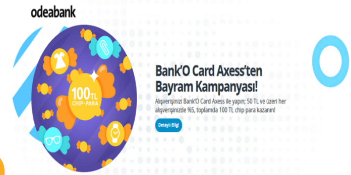 Odeabank Bank'O Card Axess Bayram Kampanyası