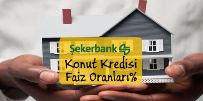 Şekerbank Eylül Konut Kredi Faiz Oranları 2016