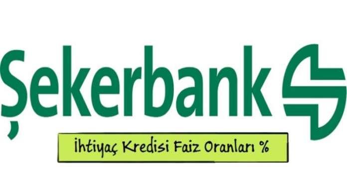 Şekerbank Karşılaştırmalı İhtiyaç Kredisi Faiz Oranları 2016