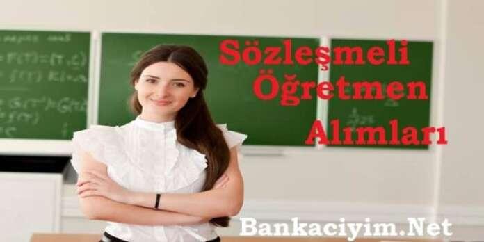 Sözleşmeli Öğretmen Alımları