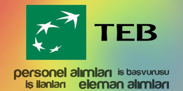TEB Aktif Satış Temsilcisi Personel Alımları