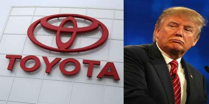 Trump Otomotiv Firmalarına Eleştirilerine Devam Ediyor: Yeni Hedef Toyota!