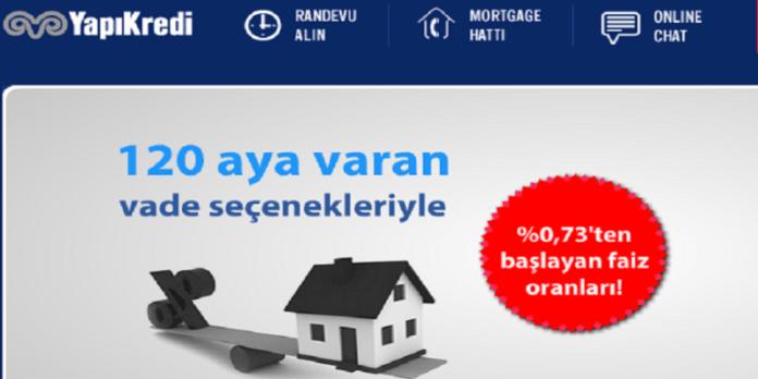 Yapı Kredi İndirimli Mortgage Kredisi