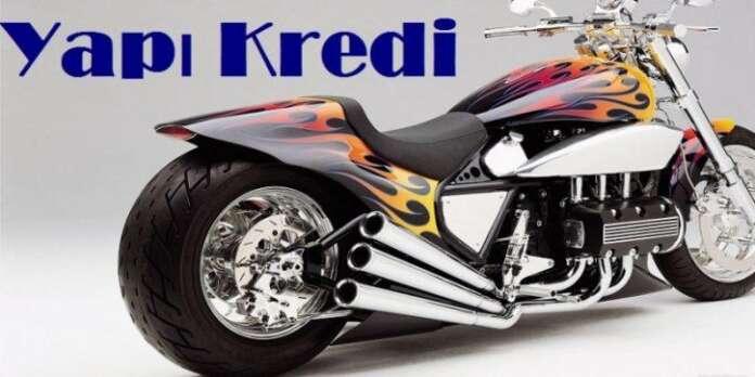 Yapı Kredi Motorsiklet Kredisi
