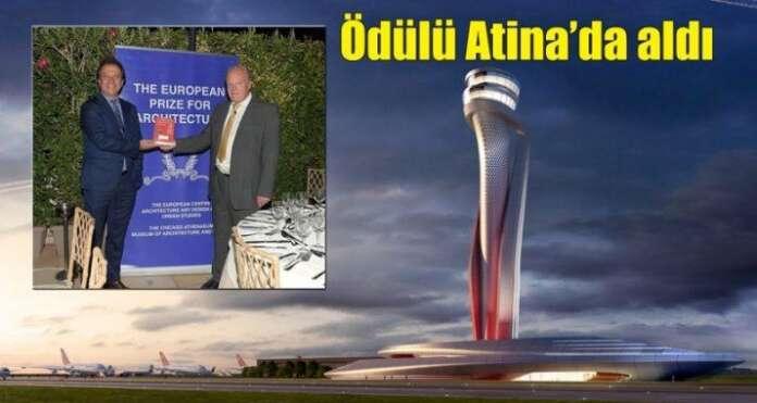 Yeni Havalimanı'nın Ödüllü Kulesi'nin Maliyeti Tam 50 Milyon Lira