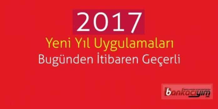 Yeni Yıl Uygulamaları Bugünden İtibaren Geçerli