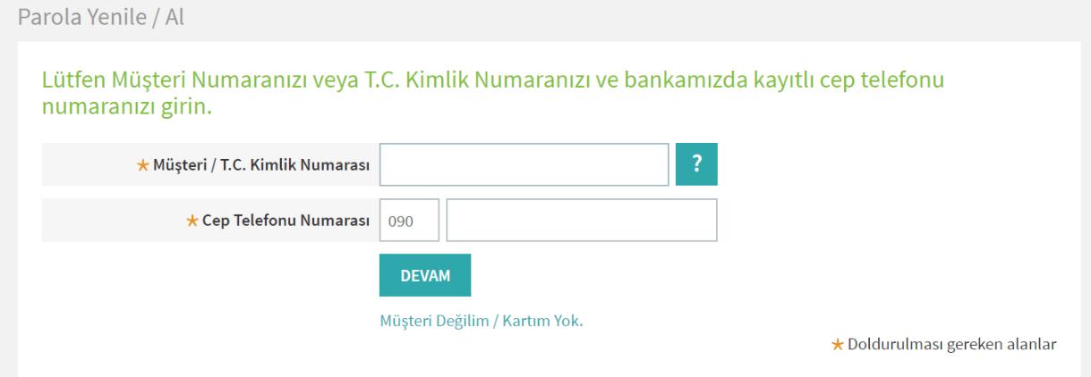 Garanti Bankası İnternet Bankacılığı Başvurusu ve Hizmetler