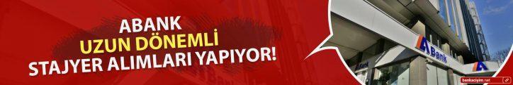 ABank Uzun Dönemli Stajyer Alımları Yapıyor!