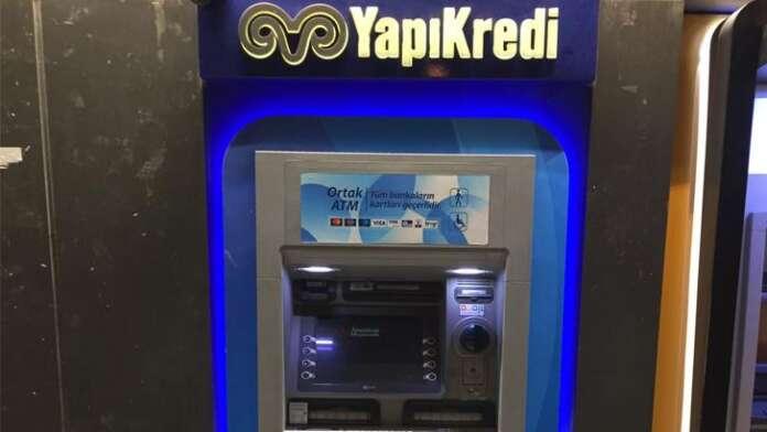 Yapı Kredi Bankası ATM Para Çekme ve Yatırma Limiti