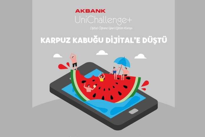 Akbank UniChallenge+ Eğitim Kampını Kaçırmayın!