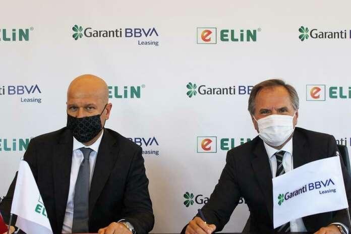 Garanti BBVA Leasing ve Elin Enerji İş Birliği Protokolü